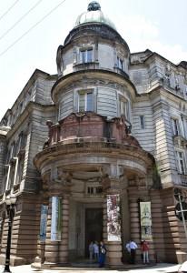 Bolsa do Café, localizada num edifício de 1922, servia para controlar, centralizar e organizar as operações comerciais envolvendo o café; hoje, funciona como museu. Foto: Miguel Schincariol