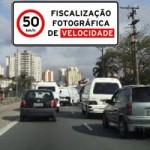 Redução de velocidade máxima em corredor (Av. Roque Petroni Jr. a Av. Cupecê)